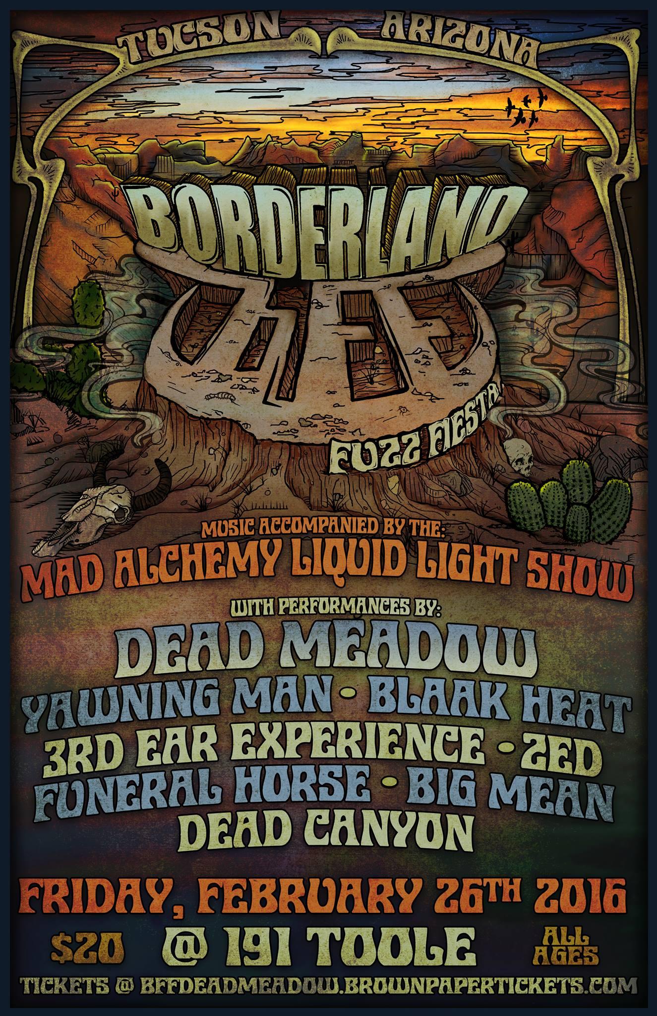borderland fuzz fiesta 2016