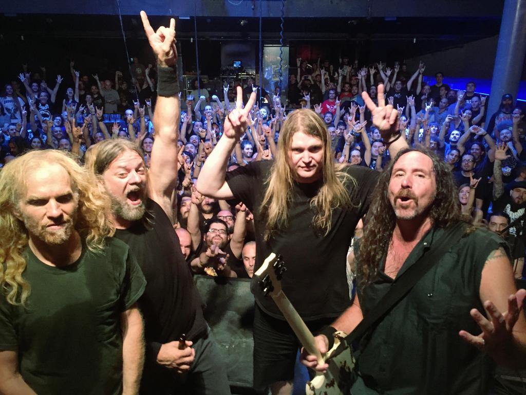 corrosion of conformity with crowd behind