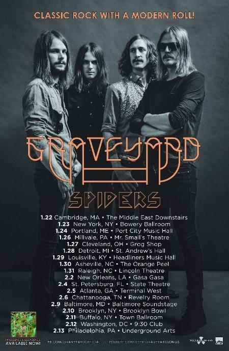 graveyard us tour poster