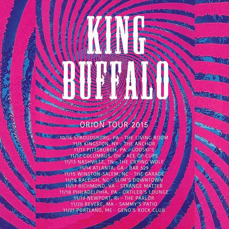 king buffalo orion tour