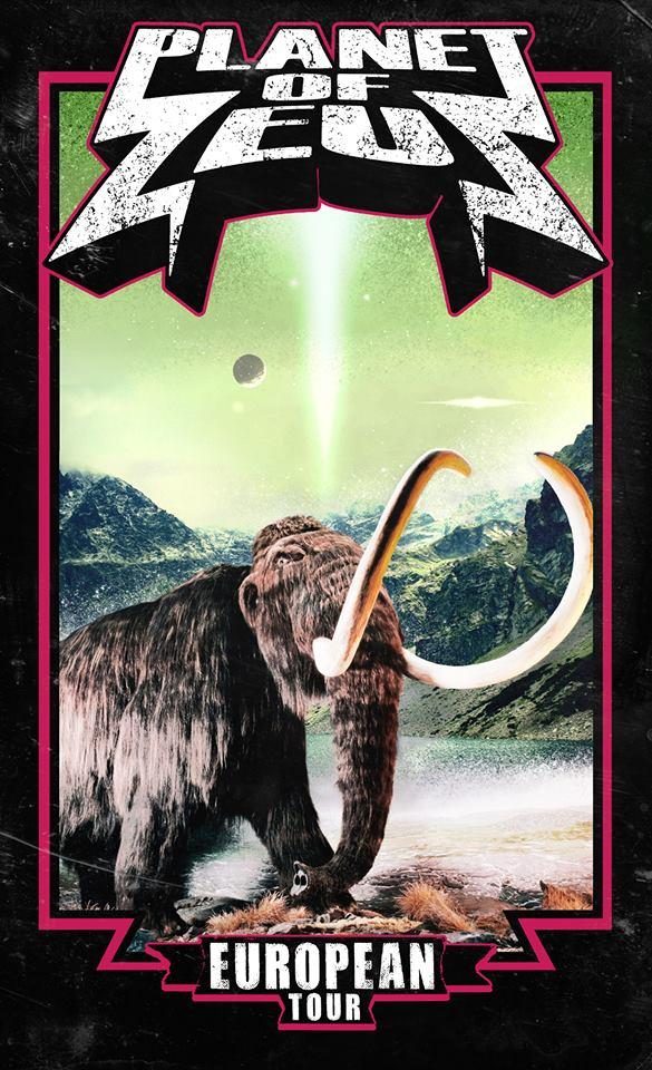 planet of zeus tour poster