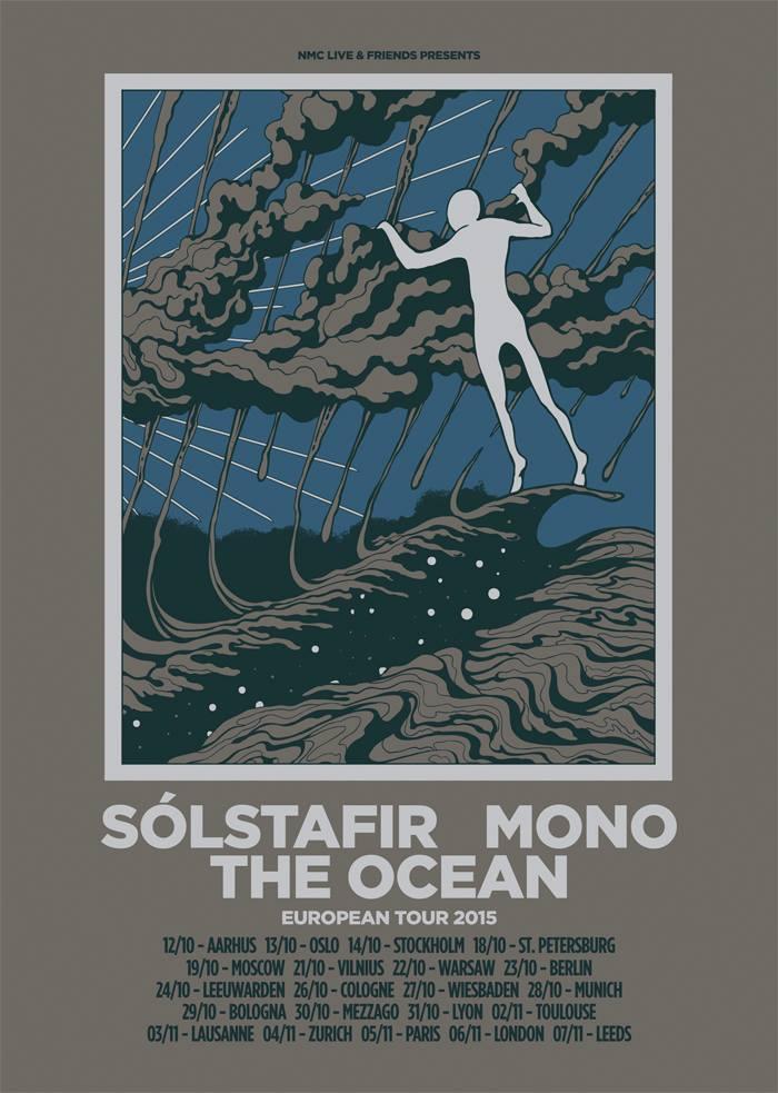 solstafir euro tour poster