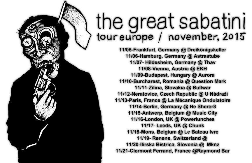 the great sabatini european tour