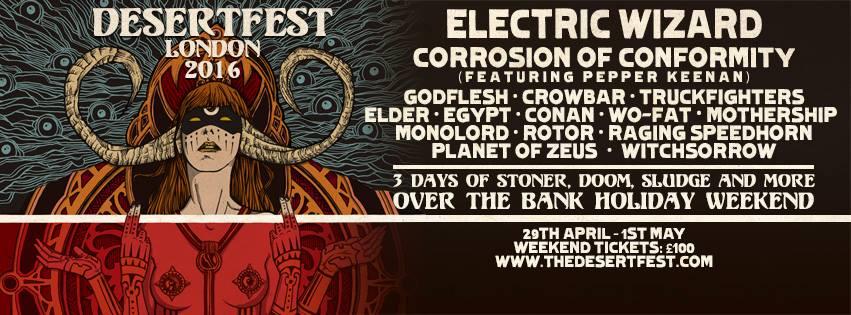 desertfest london 2016 banner