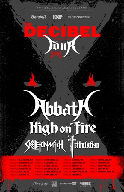 high on fire tour