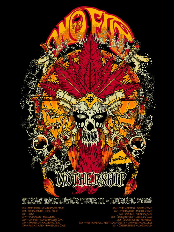 wo fat mothership tour poster