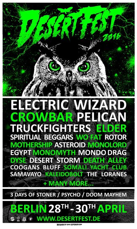 desertfest berlin 2016 poster