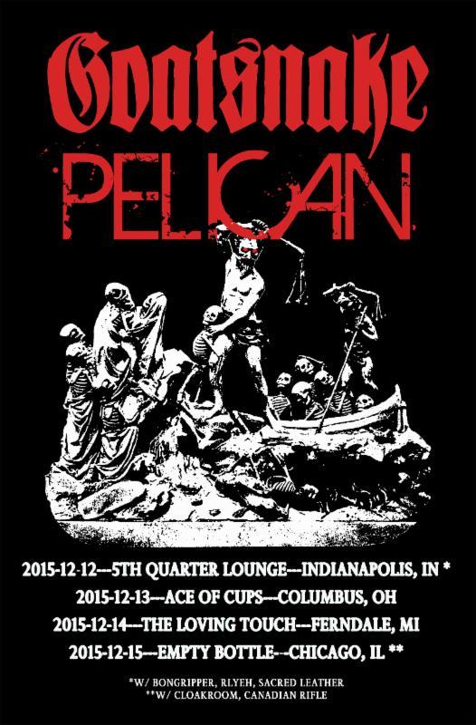 goatsnake pelican tour
