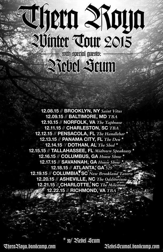 thera roya winter tour