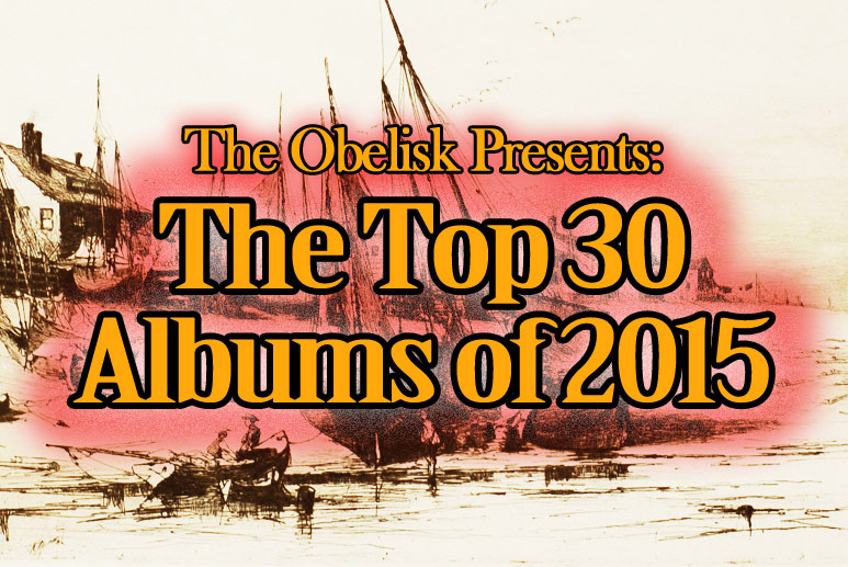 top 30 albums of 2015 1