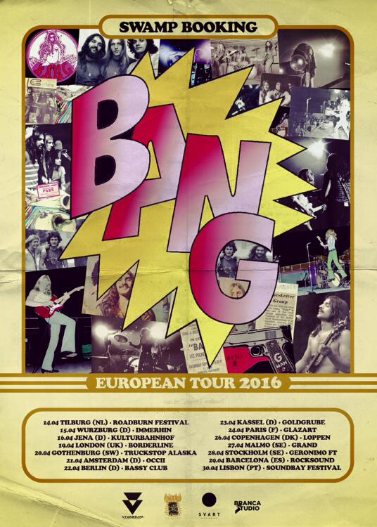 bang european tour