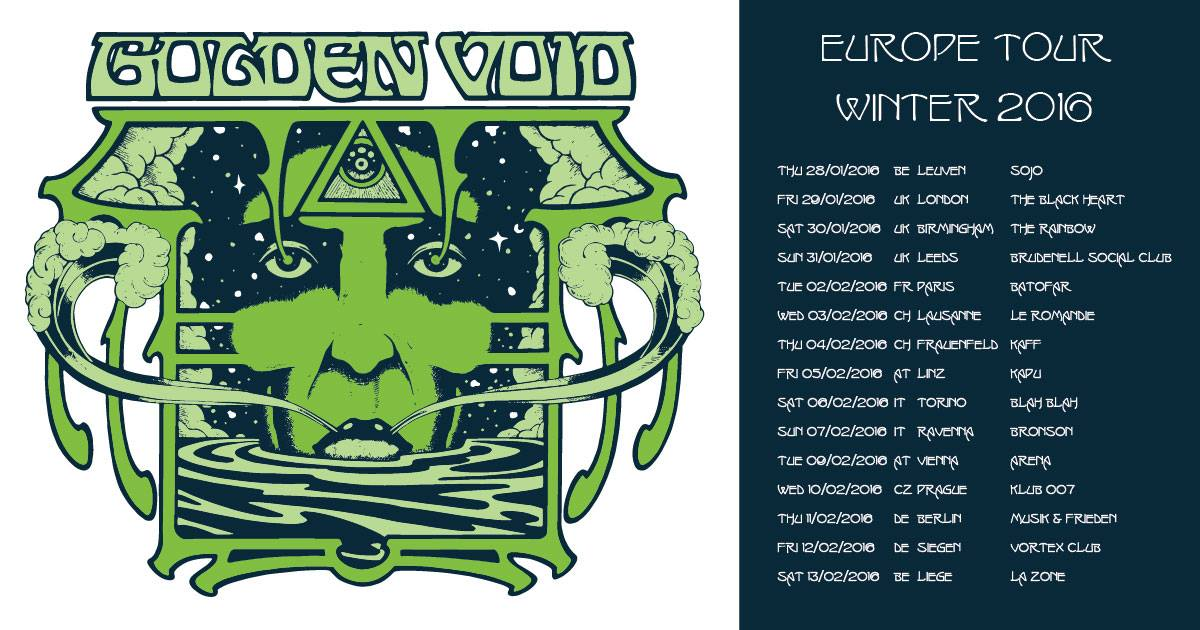golden void europe tour winter 2016