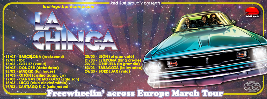 la chinga european tour
