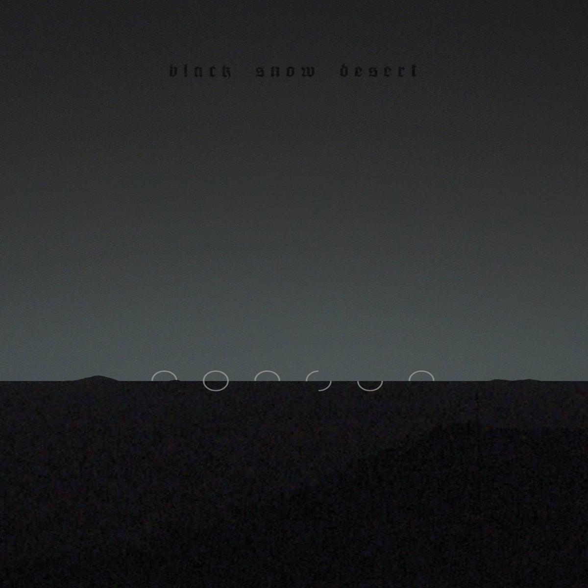 nonsun black snow desert