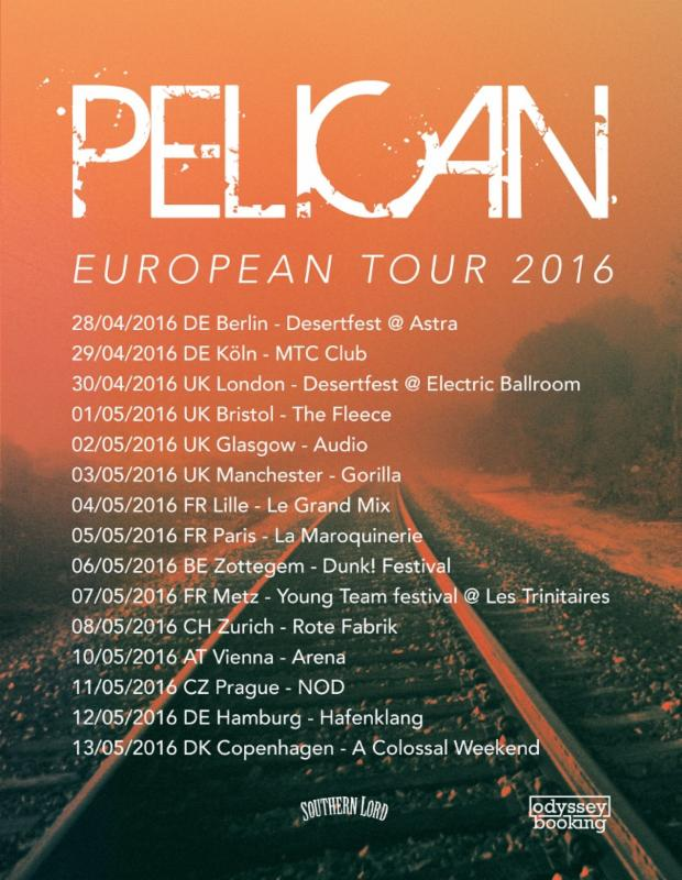 pelican european tour 2016