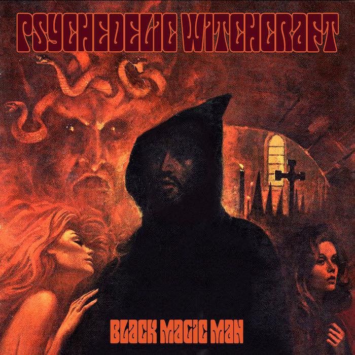psychedelic witchcraft black magic man