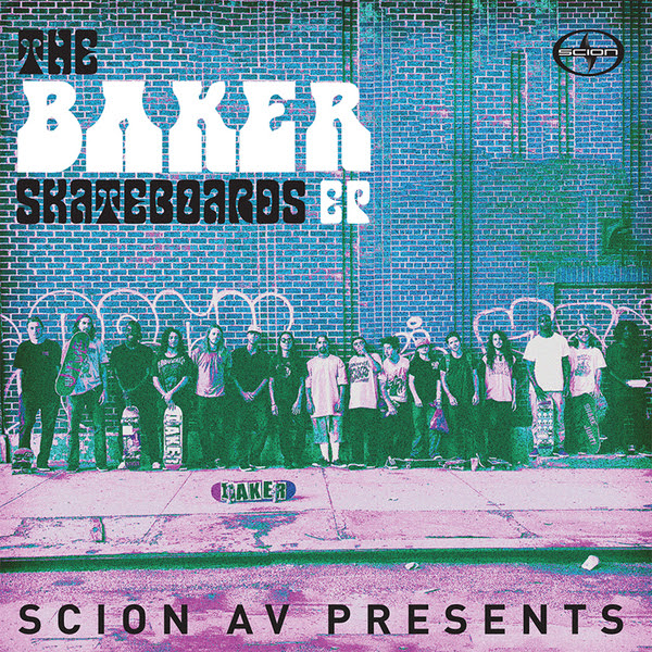 the baker skateboards ep