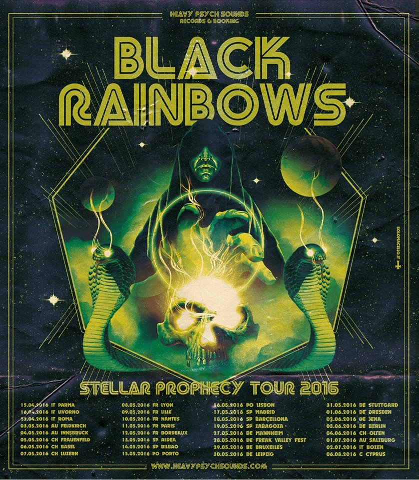 black rainbows tour dates