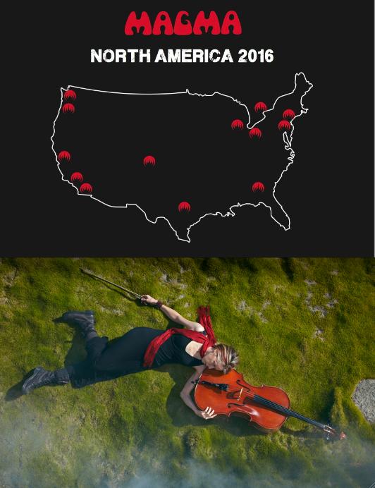 magma tour