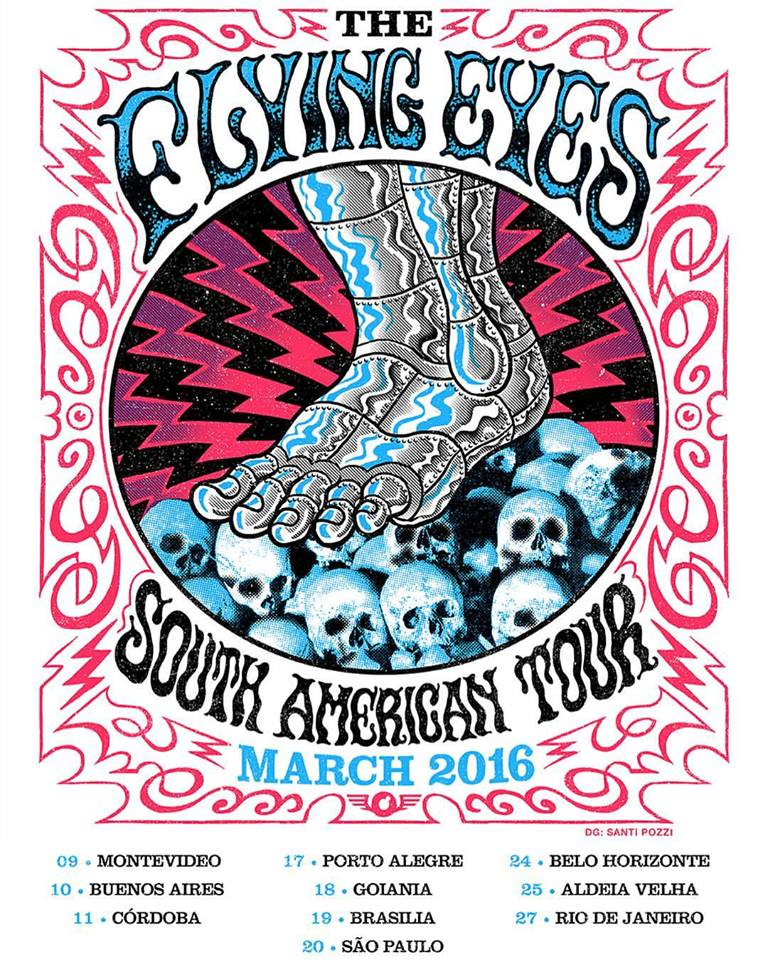 the flying eyes south america tour