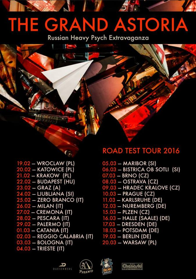 the grand astoria euro tour