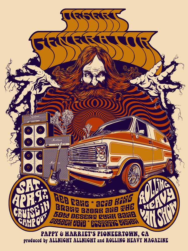desert generator poster