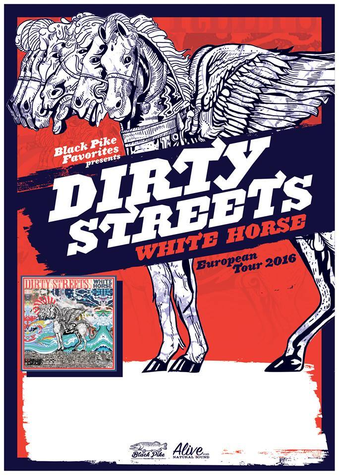 dirty streets euro tour poster