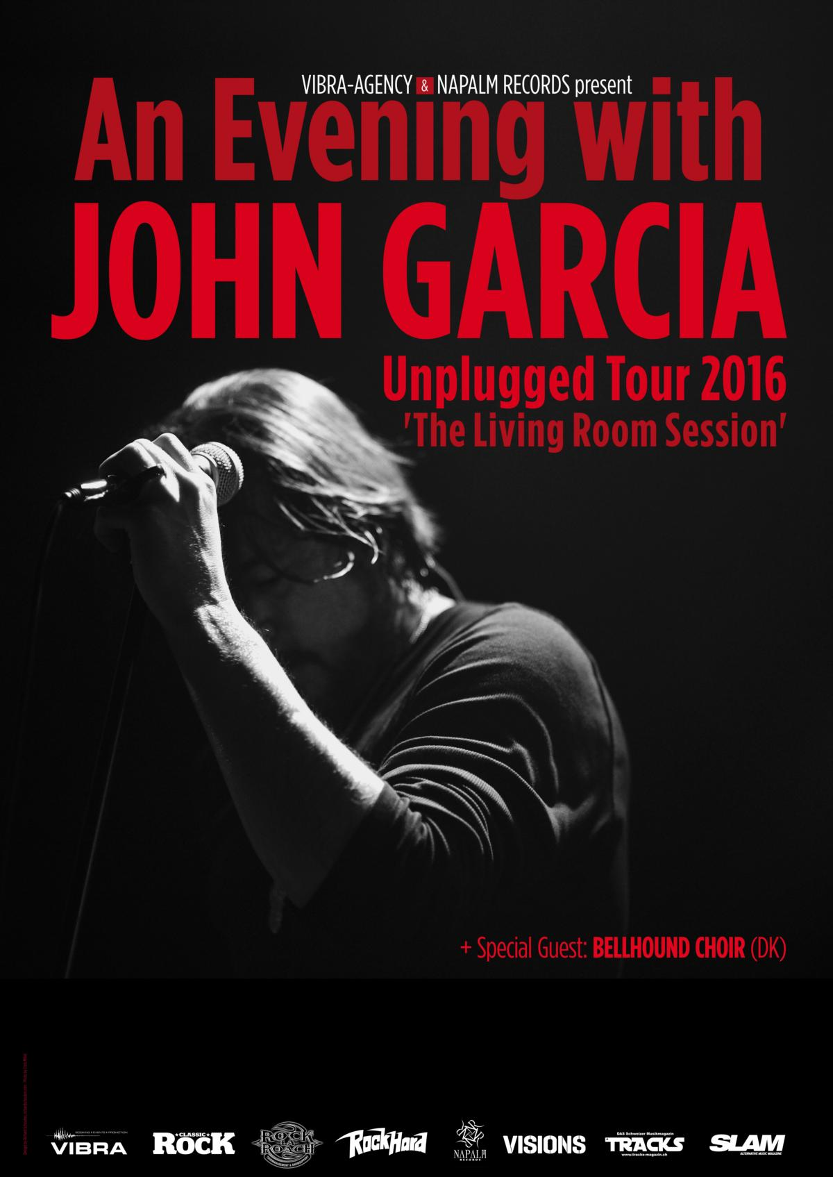 john garcia tour poster