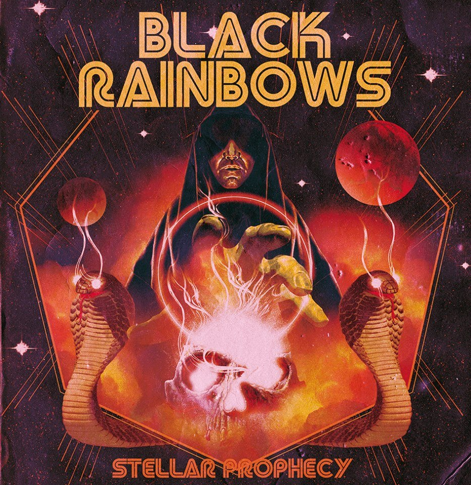 black rainbows stellar prophecy limited edition cover