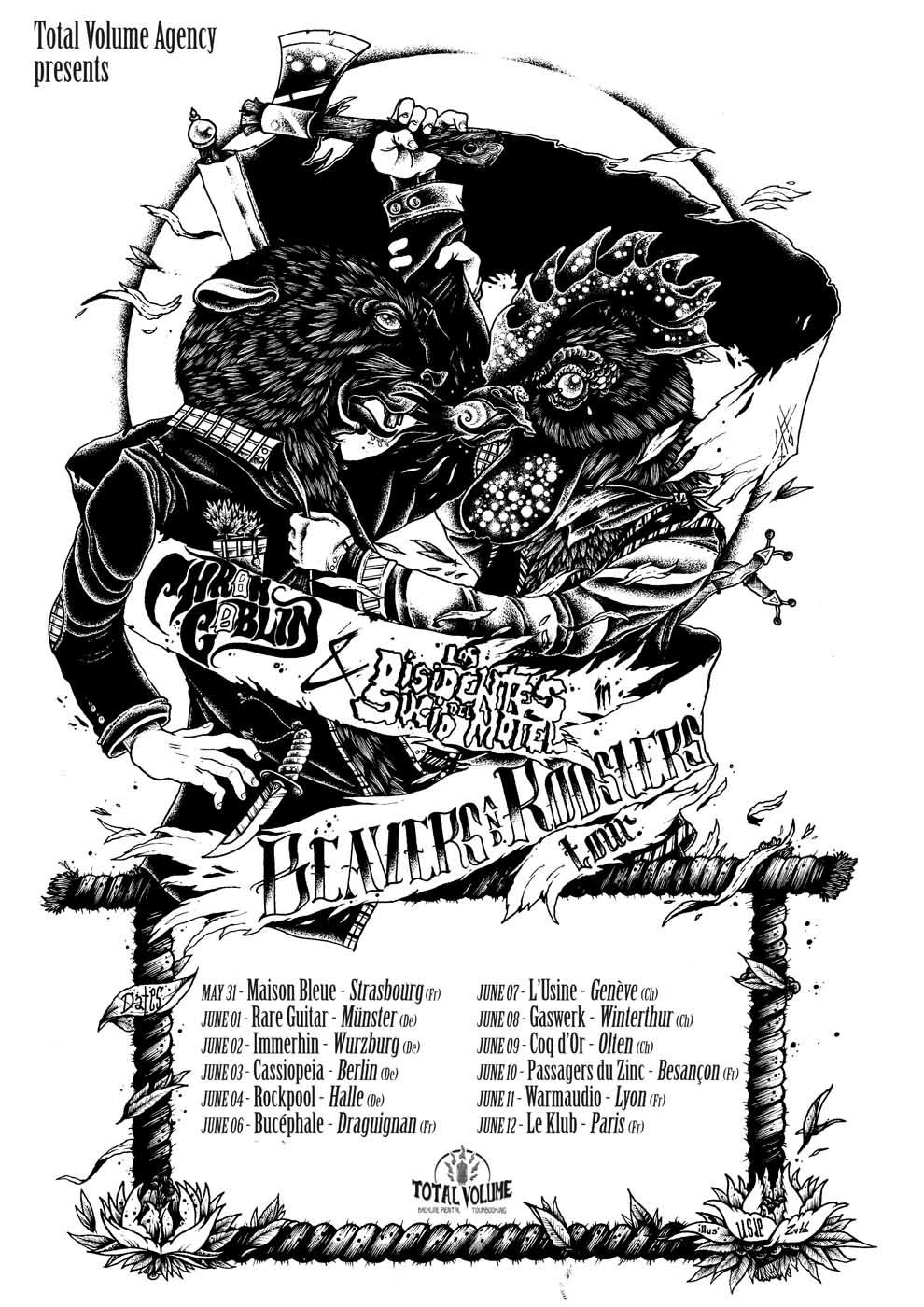 chron-goblin-los-disidentes del sucio motel tour