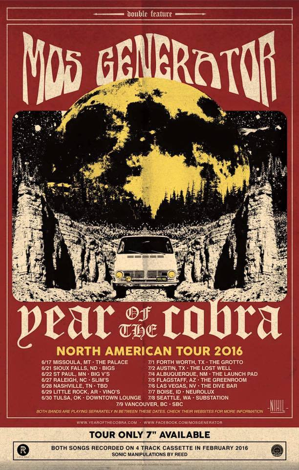 mos generator year of the cobra tour