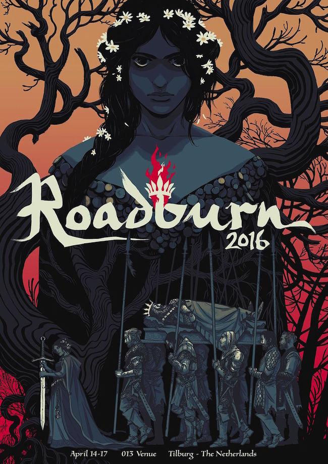 roadburn 2016 poster becky cloonan