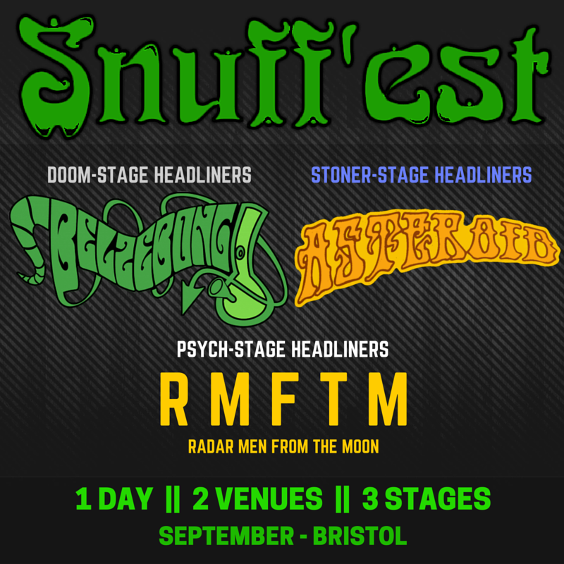 snuffest stage announcement