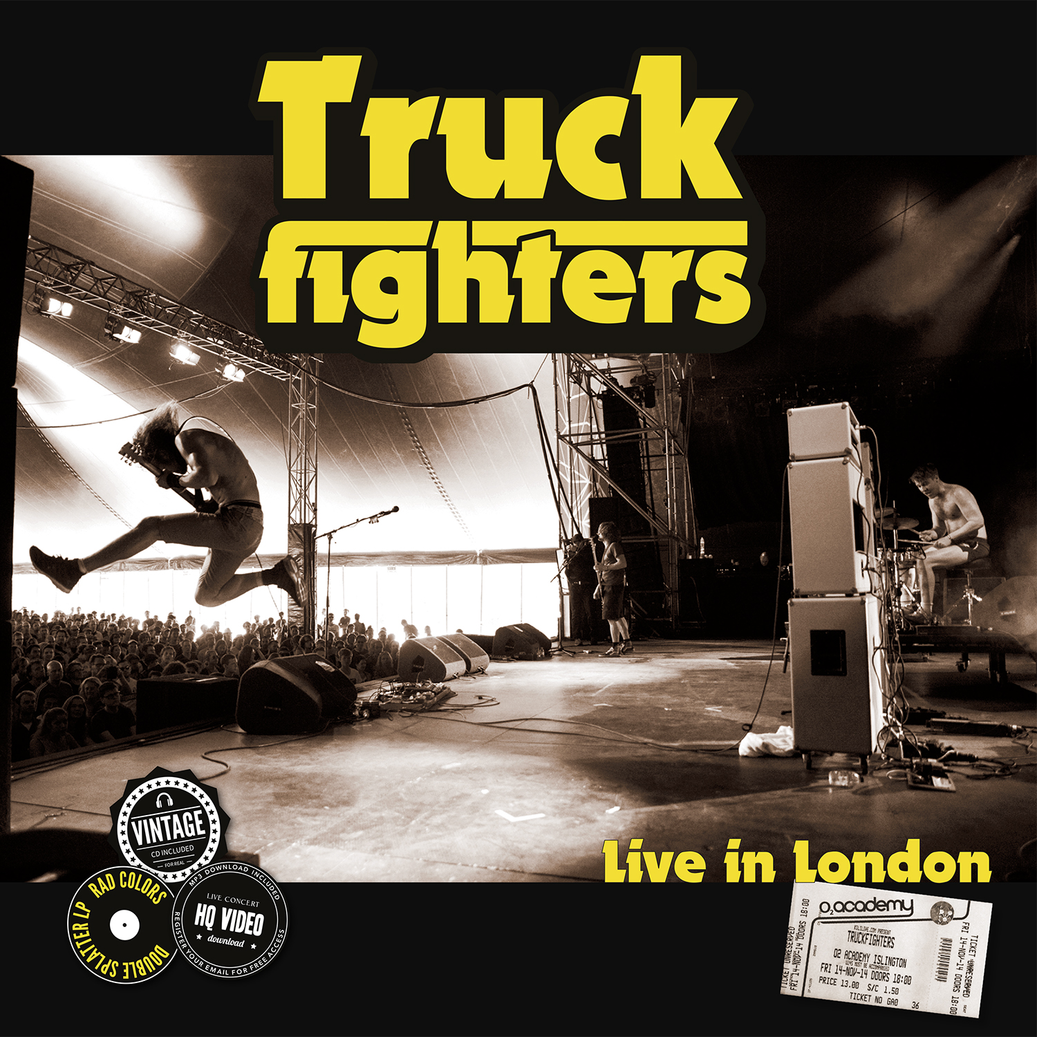 truckfighters live in london