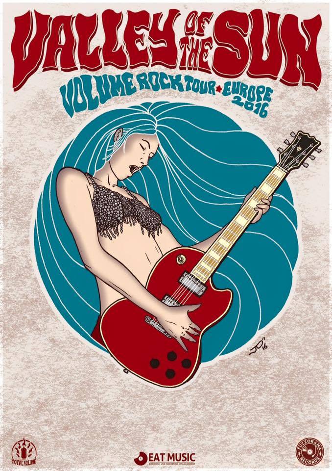 valley of the sun euro tour poster