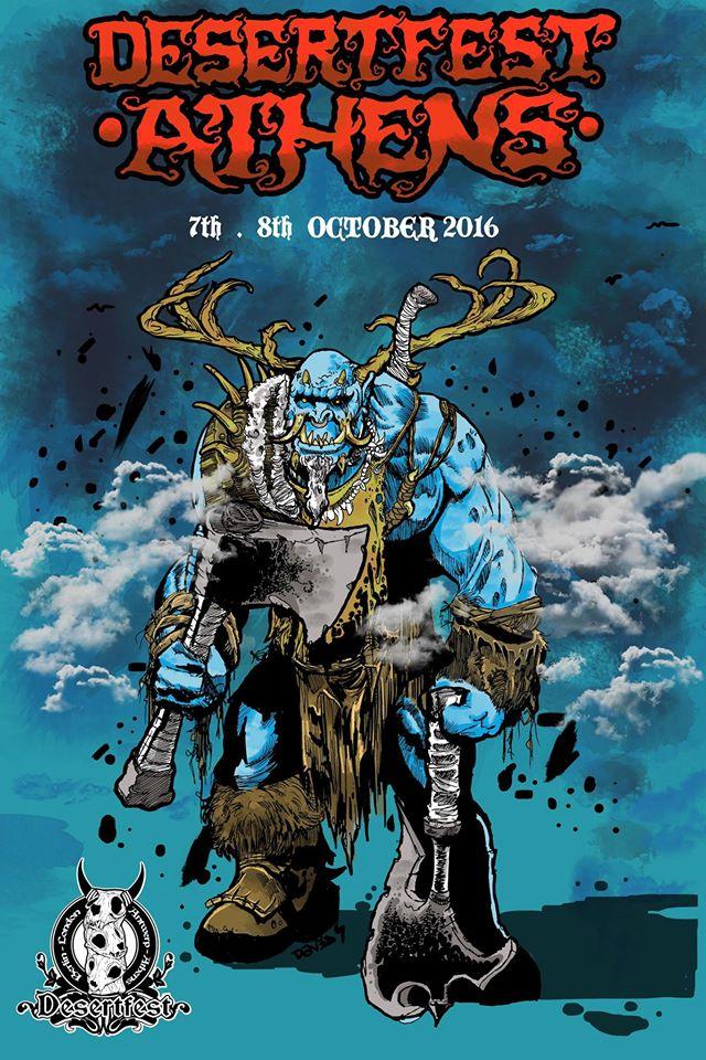 desertfest athens 2016 poster no bands