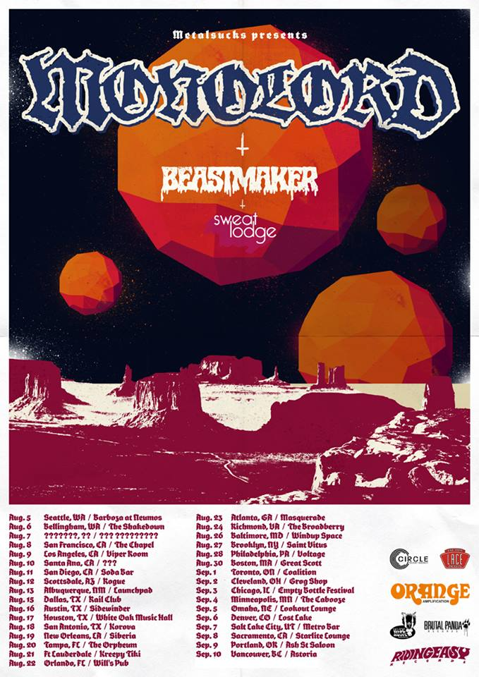 monolord us tour dates