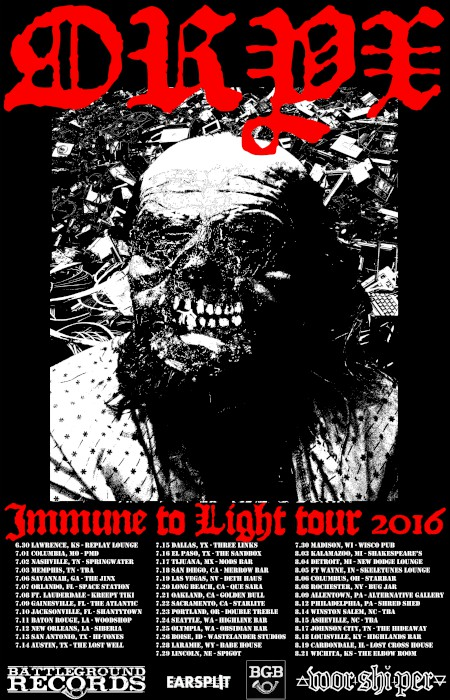 oryx tour poster