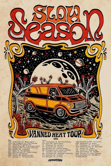slow season tour poster