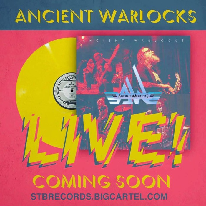 ancient warlocks live banner
