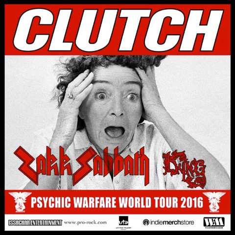 clutch Fall US tour ad