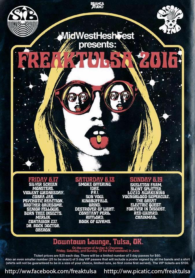 freaktulsa 2016 poster