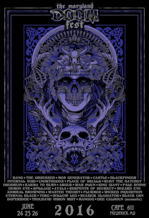maryland doom fest 2016 poster