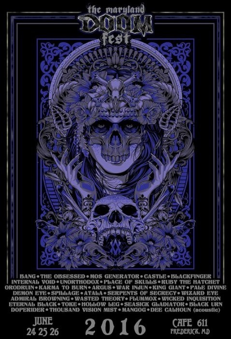 maryland doom fest poster