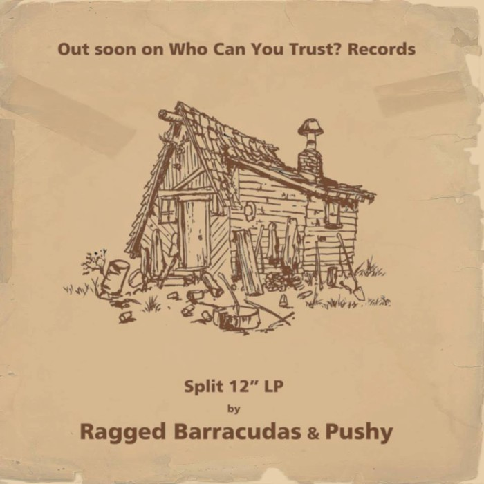 ragged barracudas pushy split ad