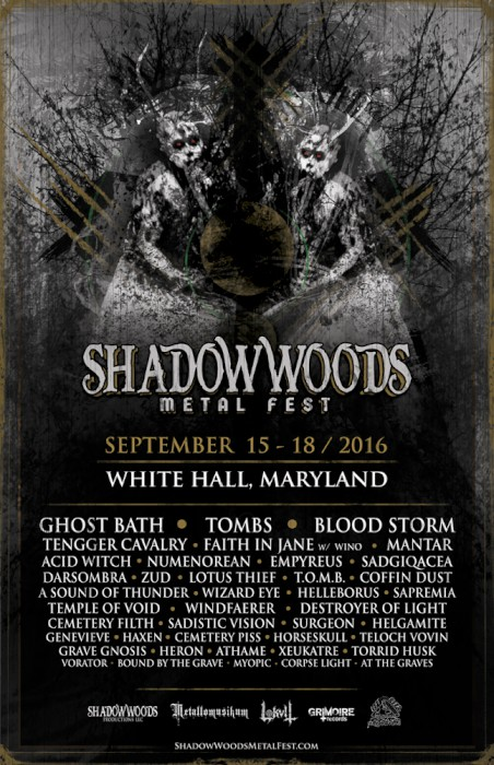 shadow woods metal fest 2016 poster