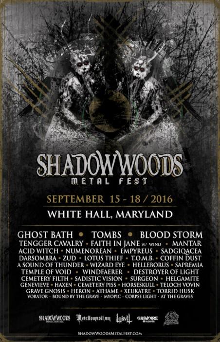 shadow woods metal fest 2016 poster