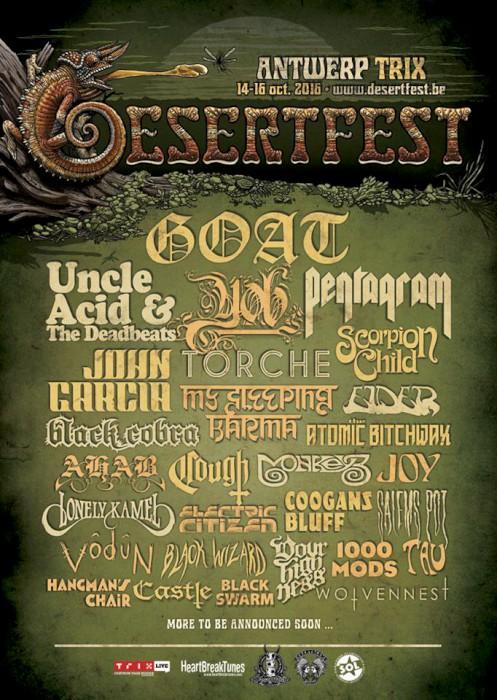 desertfest belgium 2016 poster goat