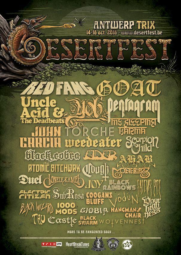 desertfest belgium 2016 poster red fang
