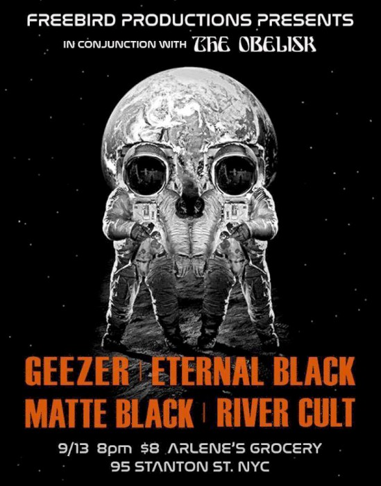 geezer eternal black show poster